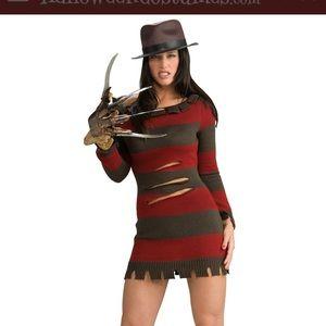 Halloween Costume Sexy Freddy Krueger